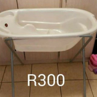 Baby bath on a stand for sale