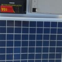 Bait boat solar kit