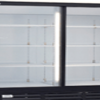 Beverage Coolers Sliding 2 Door Arctica Catering Equipment