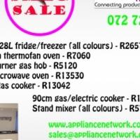 Smeg home appliances on sale
