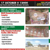 AUCTION- Ermelo Industrial Property Portfolio Disposal