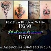 Tattoo 10x15cm R650 & R780