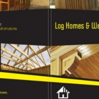 We build new log homes