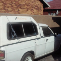 Nice Nissan 1400 with canopy for sale