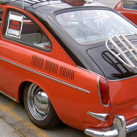 ROOF AND LUGGAGE RACK FOR CLASSIC VW FASTBACK