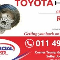 Centre Portion Toyota Hiace