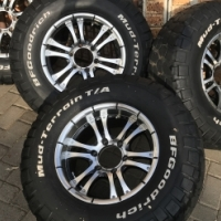 16 inch Aline Rims with 265 75 16 tyres