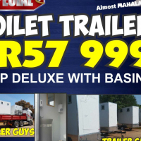 Mobile Toilet Trailers VIP