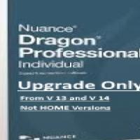 DRAGON NATURALLYSKEAKING PROFESSIONAL INDIVIDUAL V15 -UPDRADE ONLY - SOFTWARE