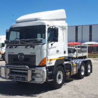 Hino 2845 6x4 truck tractor loaded with extras