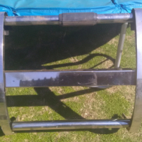 Stainless steel roll bar and bull bar