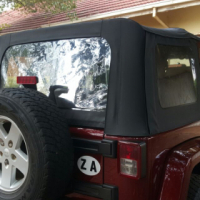 Jeep Wrangler Soft and Hard Top for sale