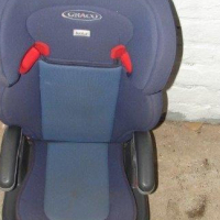 Childrens Car Seat Blue
