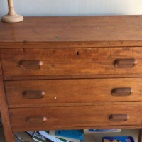 Chest of Drawers wooden handles