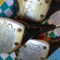 Vintage Golf Club Wood Drivers