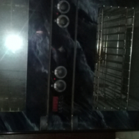 Kelvin dbl eye level oven with hob