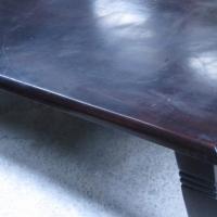 Long Dark Mahogany dining Table