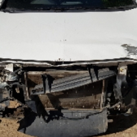 Chev Utility -Code 2 Accident damaged