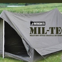 French Military Surplus Two Man Army Tent