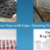 Communion Trays with Cups