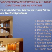 WE ARE ELECTRICIAN QUALIFIED WE WORK IN ALL AREAS CAPE TOWN