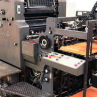 Buy Used 1989 Heidelberg MOZP-S Sheet Fed Offset Printing Machine