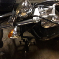 Bajaj 180 Avenger stripping for spares