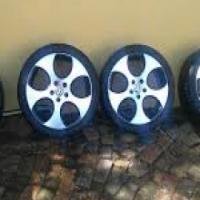 vw golf mk5 2008 gti 2.0 tfsi complete original magrim and tyres set for sale