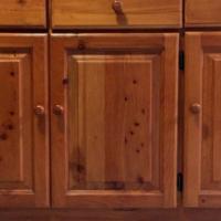 Yellow-wood Cabinet