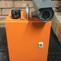 Portable CCTV units, UVG400 4 Channel DVR incl 2 Camera's & Box