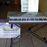 Casio Lighting Keyboard LK300 includes Stand