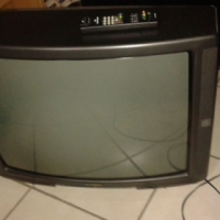 54 cm tv with remote