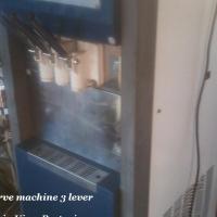 Soft serve machine 3 lever