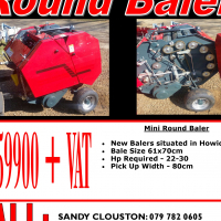 Balers - NEW