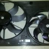 vw golf mk5 2008 gti 2.0 tfsi new after market complete radiator fans set for sale