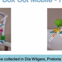 Second Hand Blue Box Cot Mobile