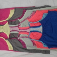 GIRLS SHORTS/LEGGINGS/CAPRI AND TOPS