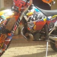 KTM 200cc