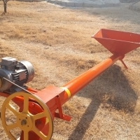 3m Feeder Auger with Electric Motor