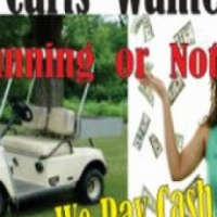 Wanted all Golf Carts running or not