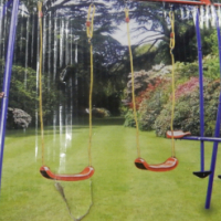 Kidsgro Double Glide and Swing Set