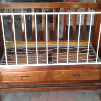 Baby Cot Solid Wood for Sale