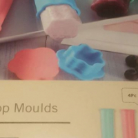 Silicone Ice Lollie Moulds