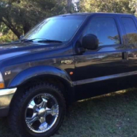 2002 Ford F250 XLT Auto Super Cab