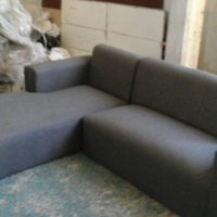 new daybed grey L shape