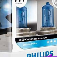 Philips DiamondVision H4 Headlight Bulbs