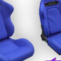 Evo Tuning GT Reclinable Racing Seats (blue)