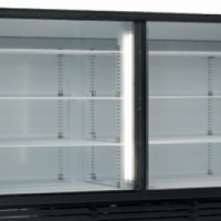 Sliding Door Beverage Coolers Arctica Catering Equipment