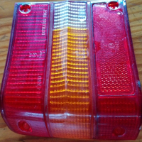 FORD CORTINA MK3 NEW GENUINE LEFT TAIL LAMP LENS - 1975-1976