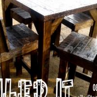 Custom Built Pallet Wood Furniture